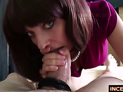 MOMMY EDUCATE SON HOW TO FUCK HER BUTT HD