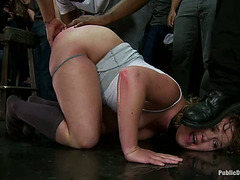 Plump Blond Mamma Sasha Knox Enjoys Getting Brutally Screwed