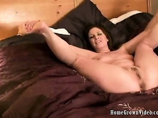 Porn Tube of Bella Moore Gets Fucked Then Takes A Creampie