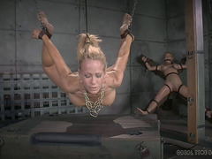 Blond Taut Anal Screwed With Toy When Tortured In SADOMASOCHISM