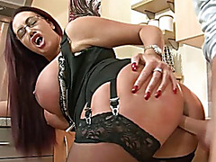 Large billibongs mother i'd like to fuck acquires drilled by stepson
