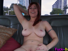 Redhead dilettante receives cum
