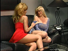 Lesbo Cougars End Up Staying Home And Fucking Every Other
