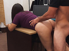 Hot chick honey can't live without a large soaked 10-Pounder to fuck