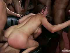 S&M group-sex with Princess Donna Dolore