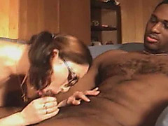 Preggy cuckold wife met impressive darksome bull