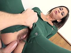 Kaci Castle enjoys non-professional anal sex on live livecam