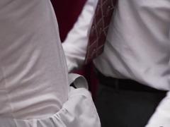 Homo mormon twink spanked