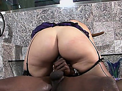 Large marangos pornstar interracial with spunk flow