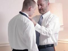 Mormon schlong masturbates