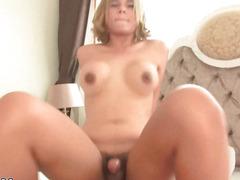 Breasty Tranny Lorla Riding Large Rod