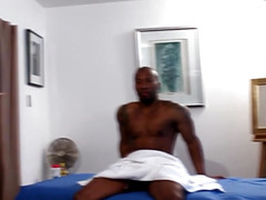 Dark hunk assfucking ripped masseur