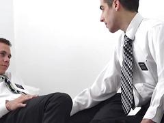 Mormon man eats homosexual wazoo