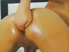 Sexy Tgirl Can't Live Without to Finger her Taut A-Hole