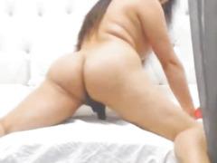 Sexy Ladyman Wench Faps Hard Ramrod Passionately