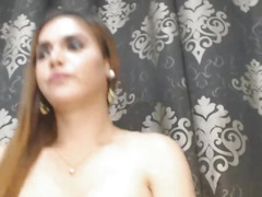 Wicked Lady-Boy Masturbating Hard