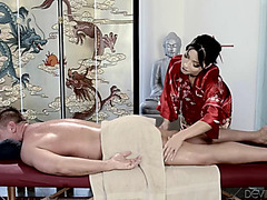 Rina ellis menacing-fearsome #asian undress mall #massage 5