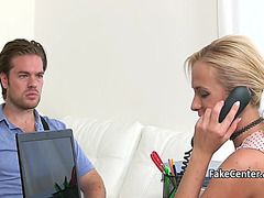 Hot casting agent drilled on interview