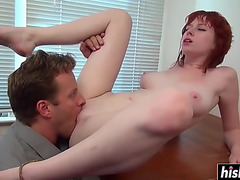 Breasty zoey nixon receives her vagina screwed