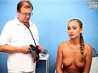 Porn Tube of Blonde Valerie Gyno Fetish Speculum Pussy Examination At Kinky Gyno Clinic