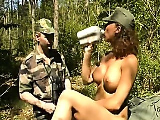 Porn Tube of Laura Guerlain In Army