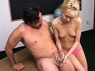 Porn Tube of Jerking The Teacher