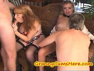 Porn Tube of Swinging Grannies, Cream Pie Eating And A Few Young Girls