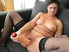 Wife Toying Her Pussy