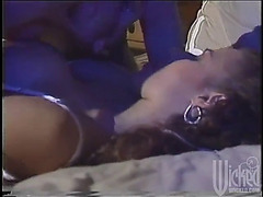 Concupiscent hotties make u pop a boner with a lesbo scene