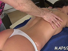 Slut's face hole and snatch acquire rammed