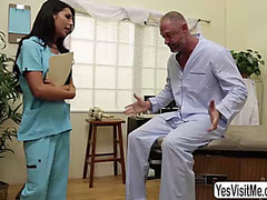 Older man arclyte sucks penis and fingers large melons tgirl chanel santini