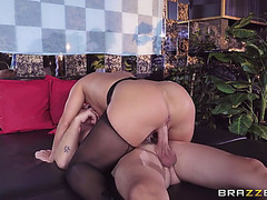 Large butt candice dare anally riding the hard prick