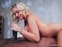Jessica ryan and prince yashua have enjoyment in 69 pose on the table