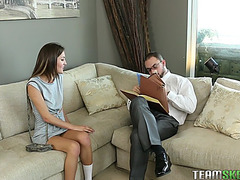 Renee roulette seducing her dad's business partner