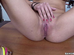 Non-Professional latin babe jessi lopez receives her arse aperture fingered