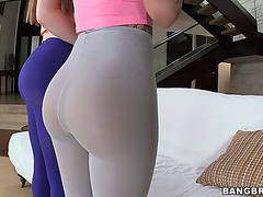 Christy mack and aurielee summers showing their asses