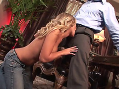 Coarse sex for the glamorous blond chick aubrey addams