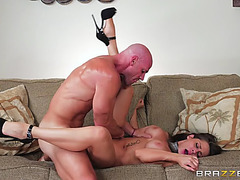 Madison ivy in hawt high heels receives slit screwed by johnny sins