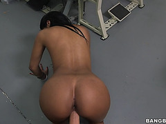 Bootyful sweetheart aaliyah grey receives pounded doggy style in pov