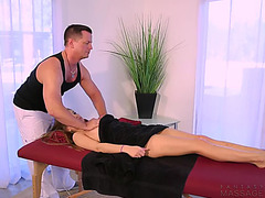 Amazingly hawt sydney cole acquires massaged and then drilled like a whore