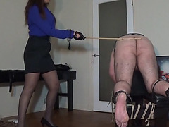 60 strokes administered by miss sultrybelle