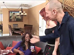 Foursome with kylie ireland &fearsome jada fire