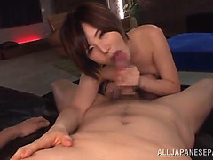 Yuria satomi is drilled naive until her mouth's filled by ball cream