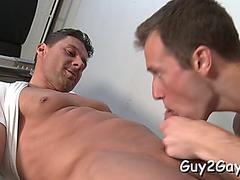 Penis riding anal homo sex