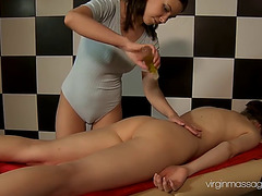 Charming alina redofed acquires slutty during an erotic massage