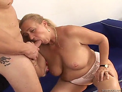 Coarse sex with the breasty blond sharon lane