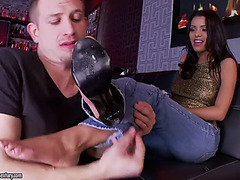 Irresistible feet of breathtaking latin babe josie jagger acquire eaten