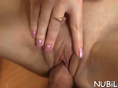 Girl's holes acquire screwed
