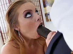 Bootylicious white mother i'd like to fuck britney amber take veiny bbc up her bushy cum-hole