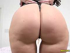 Startling pawg ryan smiles tit bonks large ramrod and rides it savagely